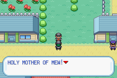 Pokemon Flame Red Screenshot