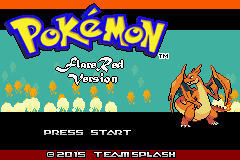 Pokemon Flare Red GBA ROM Hacks