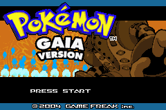 Pokemon Gaia GBA ROM Hacks