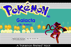 Pokemon Galacta GBA ROM Hacks
