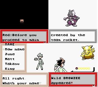 Pokemon Haiiro Screenshot