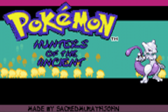 Pokemon Hunters of the Ancients GBA ROM Hacks