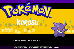 Pokemon Korosu GBA ROM Hacks