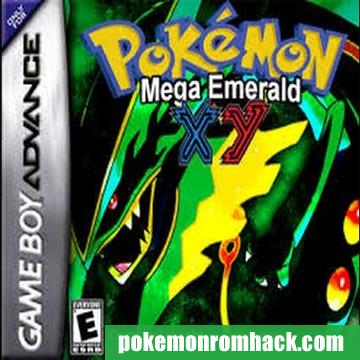 Pokemon Mega Emerald X & Y Edition GBA ROM Hacks