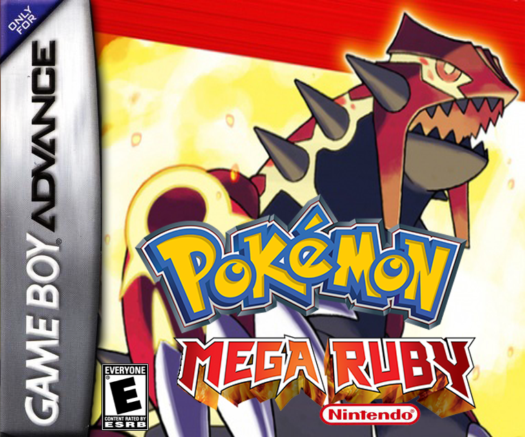 Pokemon Mega Ruby GBA ROM Hacks