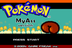 Pokemon My Ass GBA ROM Hacks