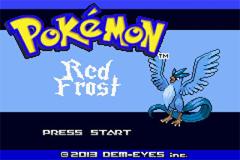 Pokemon Red Frost GBA ROM Hacks