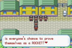 Pokemon Rocket Red GBA ROM Hacks