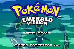 Pokemon Spirit Emerald GBA ROM Hacks
