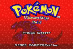 Pokemon Ultimate Mega Ruby Screenshot