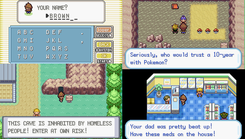 Pokemon Whisky Brown Screenshot