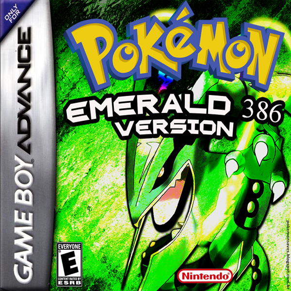 Pokemom Emerald 386 GBA ROM Hacks