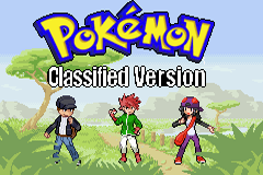 Pokemon Classified GBA ROM Hacks