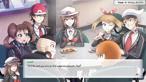 Pokemon Academy Life Screenshot