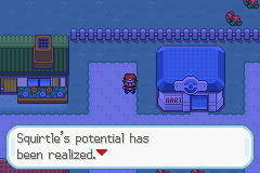 Pokemon Aqua Blue Screenshot