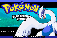Pokemon Blue Legend GBA ROM Hacks