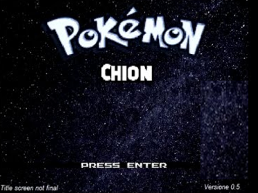 Pokemon Chion RMXP Hacks