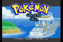 Pokemon Cobalto Azul GBA ROM Hacks