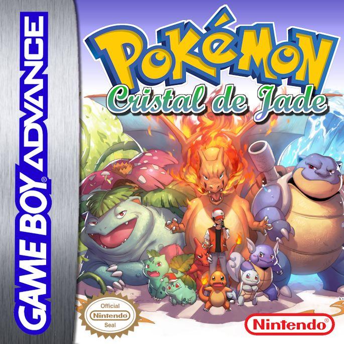 Pokemon Cristal de Jade GBA ROM Hacks