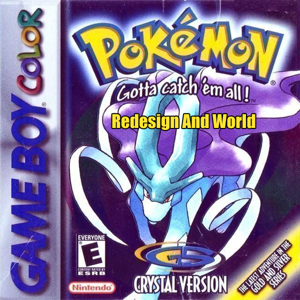 Pokemon Crystal Redesign And World Screenshot
