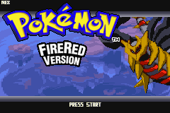 Pokemon Distortion Black GBA ROM Hacks