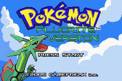 Pokemon Fluorite Version GBA ROM Hacks