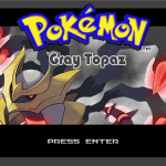 Pokemon Gray Topaz