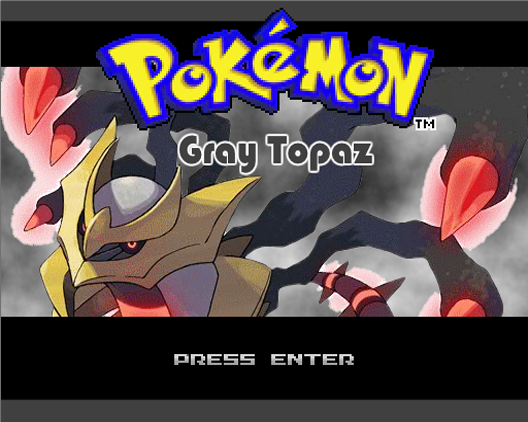 Pokemon Gray Topaz Screenshot