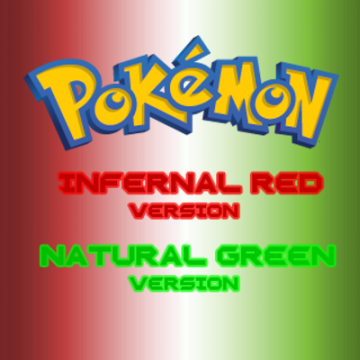 Pokemon Infernal Red & Natural Green Screenshot