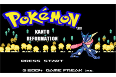 Pokemon Kanto Reformation GBA ROM Hacks