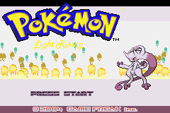 Pokemon Light Rising GBA ROM Hacks
