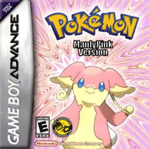 Pokemon Manly Pink GBA ROM Hacks