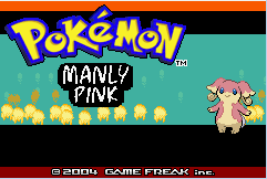 Pokemon Manly Pink Screenshot