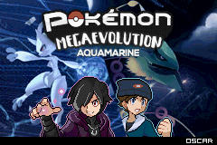 Pokemon Mega Evolution Aquamarine GBA ROM Hacks