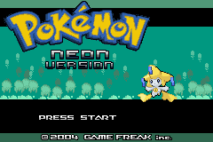 Pokemon Neon GBA ROM Hacks