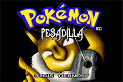 Pokemon Pesadilla GBA ROM Hacks