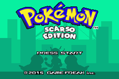 Pokemon Scarso Edition GBA ROM Hacks