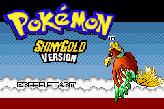 Pokemon Shiny Gold Sigma GBA ROM Hacks