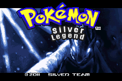 Pokemon Silver Legend GBA ROM Hacks