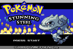 Pokemon Stunning Steel Screenshot