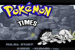 Pokemon Times GBA ROM Hacks