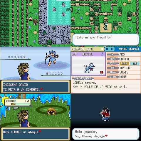Pokemon Viajes Con Celebi GBA ROM Hacks