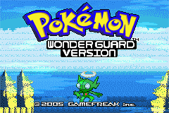 Pokemon Wonder Guard GBA ROM Hacks
