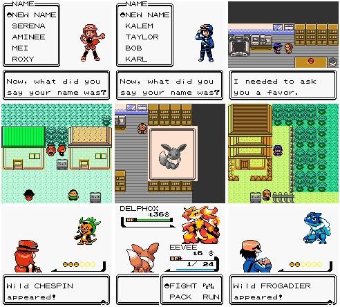 Pokemon XY: Naturia Download, Informations & Media - Pokemon