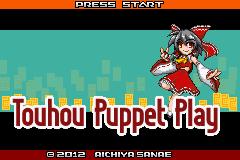 Touhou Puppet Play Enhanced GBA ROM Hacks