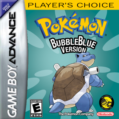 Pokemon BubbleBlue GBA ROM Hacks