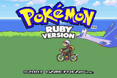 Pokemon Ruby 2012 GBA ROM Hacks