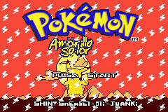 Pokemon Amarillo Solar GBA ROM Hacks