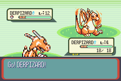 Pokemon Derpizard GBA ROM Hacks