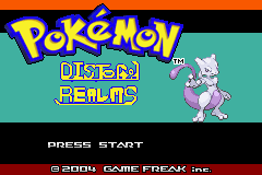 Pokemon Distorted Realms GBA ROM Hacks